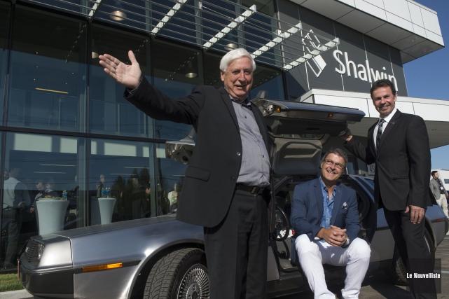 Les 60 ans de Shalwin ont été célébrés... (Photo: Stéphane Lessard Le Nouvelliste)