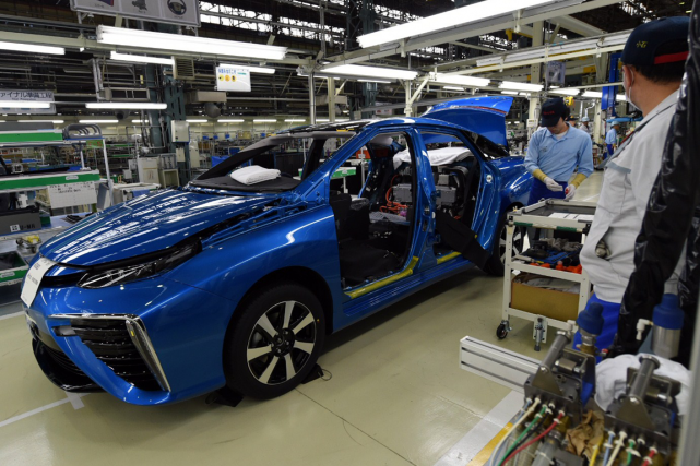 Toyota compte sept sites de production à Toyota... (Photo Toshifumi Kitamura, archives AFP)