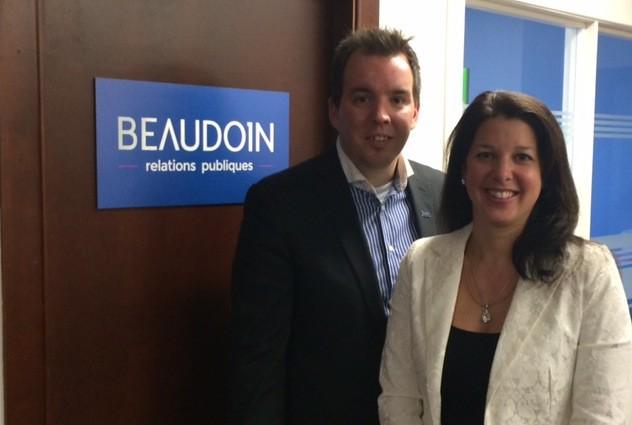 Steve Renaud et Guylaine Beaudoin....