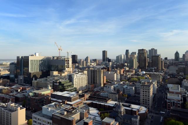 À Montréal, 79 % de la hausse des... (PHOTO BERNARD BRAULT, ARCHIVES LA PRESSE)
