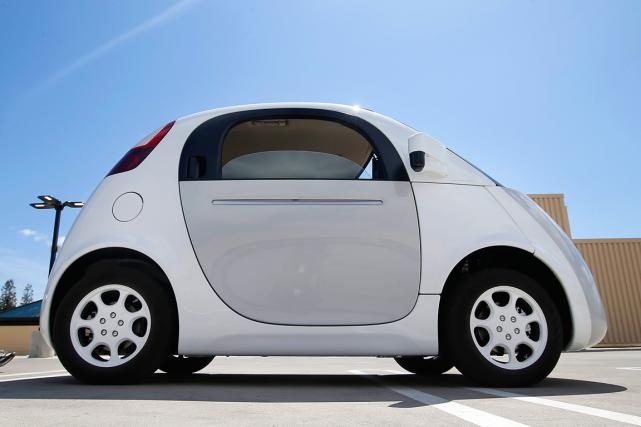 la voiture autonome de google roulera cet t technologies. Black Bedroom Furniture Sets. Home Design Ideas