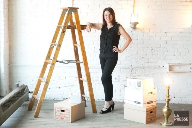 Chasseuse de trésors,Isabelle Clément maîtrise l'art de trouver... (PHOTO FRANÇOIS ROY, LA PRESSE)