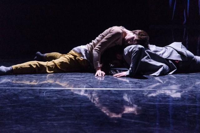 La pièceParadoxe Mélodie,de Danièle Desnoyers.... (Photo fournie par Danse Danse)