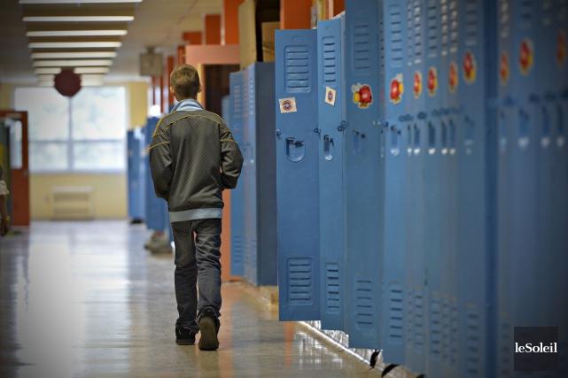 En moyenne, dans les 39 700 collèges et... (Photothèque Le Soleil, Pascal Ratthé)