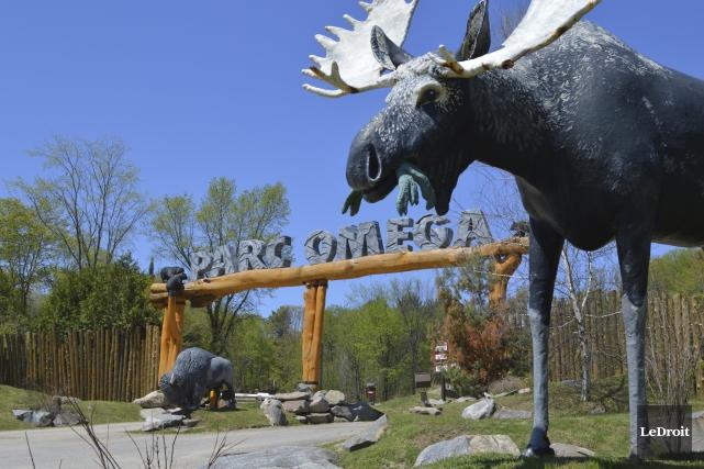 Le Parc Oméga a attiré 204 000 visiteurs... (Benoit Sabourin, LeDroit)