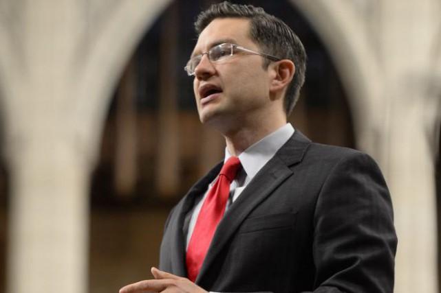 Pierre Poilievre a balayé toutes les critiques du... (Adrian Wyld, Archives La Presse Canadienne)