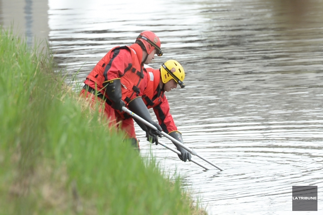 Un corps a été repêché dans la rivière... (Imacom, Maxime Picard)