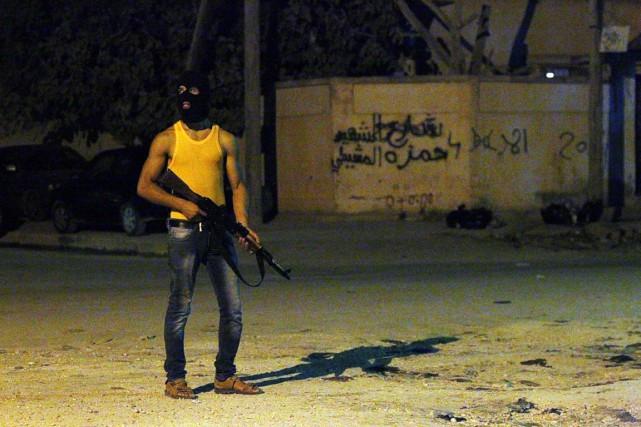 La Libye est en proie à une guerre... (PHOTO ABDULLAH DOMA, ARCHIVES AFP)