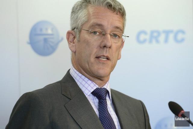 Le président du CRTC, Jean-Pierre Blais... (PHOTOTHÈQUE LA VOIX DE L'EST)