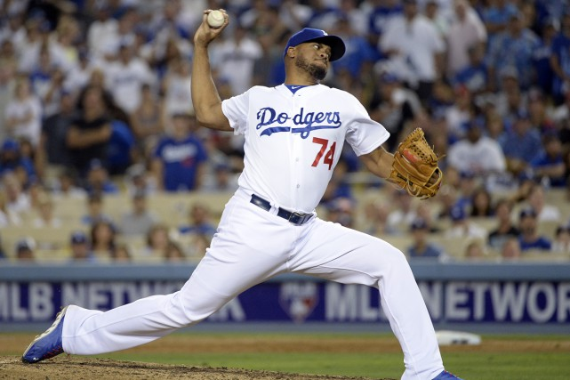 Kenley Jansen... (Photo Richard Mackson, archives USA TODAY Sports)