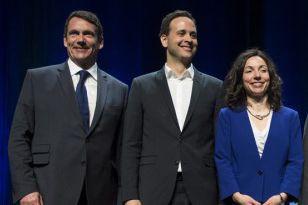 Les candidats à la direction du PQ, Pierre... (PHOTO ARCHIVES LA PRESSE CANADIENNE)