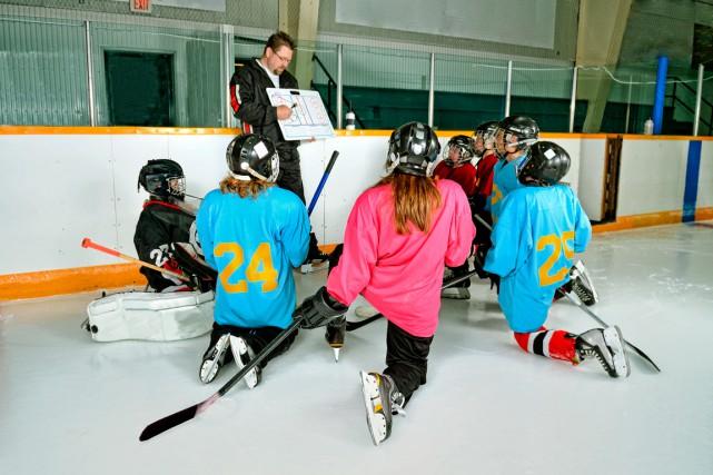 Les représentants des associations mixtes de hockey mineur... (Photo Shutterstock)