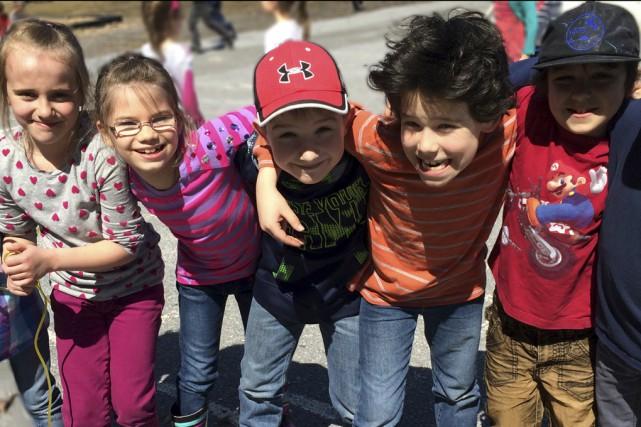 Après une première expérience très positive, l'école primaire... (photo Sophie Sénécal, collaboration spéciale)
