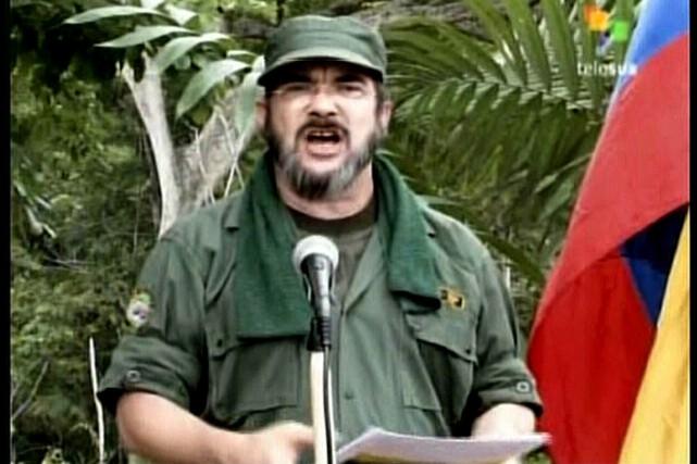 Le chef suprême des Farc, Timoleon Jimenez... (PHOTO ARCHIVES AFP)