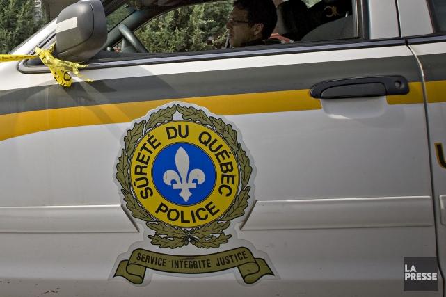 L'intervention rapide de deux policiers de la Sûreté du Québec a permis... (PHOTO PATRICK SANFAÇON, ARCHIVES LA PRESSE)