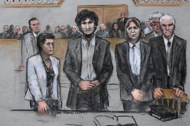 Djokhar Tsarnaev a écopé de la peine de... (Photo Jane Flavell Collins, AP)