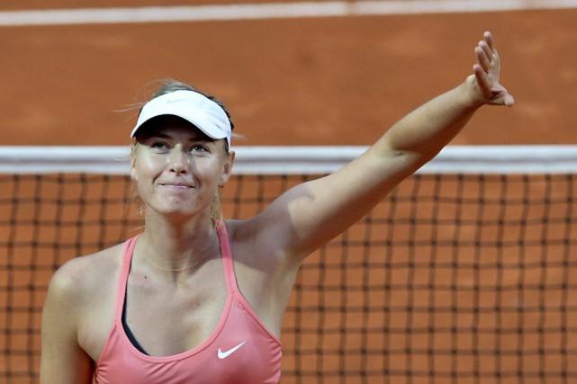 Maria Sharapova... (PHOTO TIZIANA FABI, AFP)