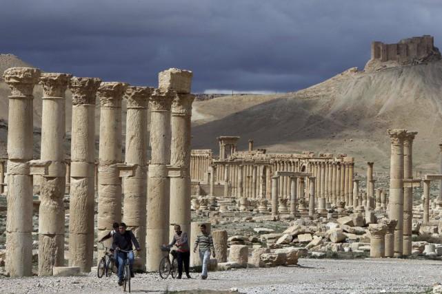 «L'EI a avancé et pris le contrôle de... (PHOTO JOSEPH EID, ARCHIVES AFP)