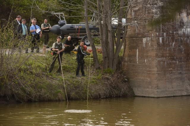 Les policiers de la Sûreté du Québec ont... (Photo: François Gervais)