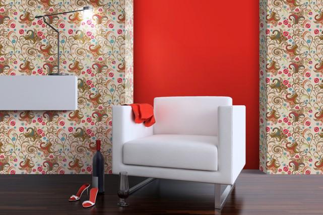 Les tuiles murales permettent de créer un décor... (Image fournie par Rona)