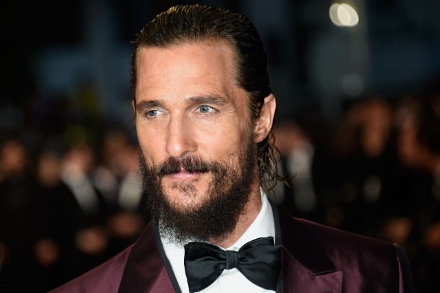 Matthew McConaughey... (PHOTO LOIC VENANCE, AFP)