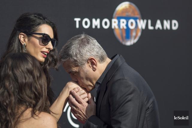 George Clooney et Amal Alamuddin... (Photothèque Le Soleil)
