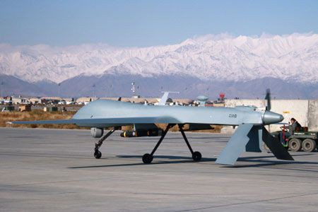 Un drone américain.... (Photo: AFP)