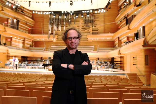 Commandée par l'OSM, pour le concert Temps&Espace -... (Photo Martin Chamberland, La Presse)