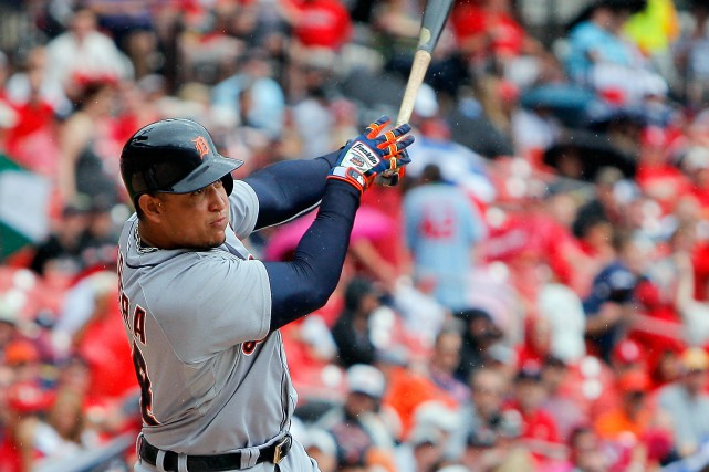 Miguel Cabrera... (Photo Scott Kane, USA Today)