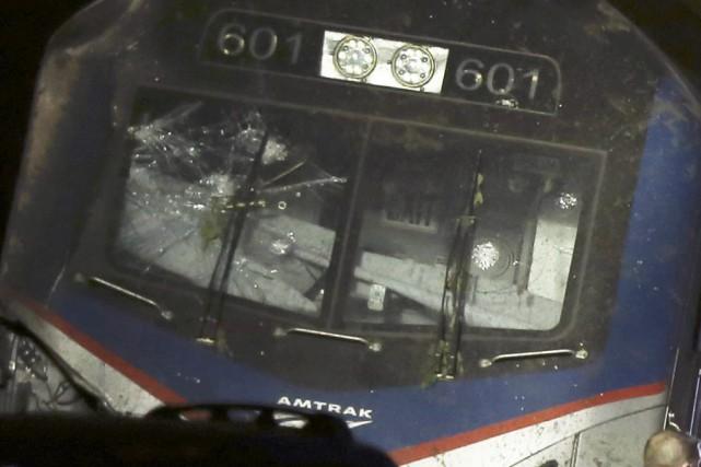 Une contrôleuse a indiqué avoir entendu le conducteur... (Photo Elizabeth Robertson, AP)
