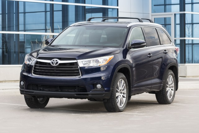 Le Toyota Highlander 2015... (PHOTO FOURNIE PAR TOYOTA)