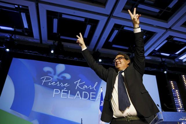 Pierre Karl Péladeau est le nouveau chef du... (Photo Mathieu Belanger, Reuters)
