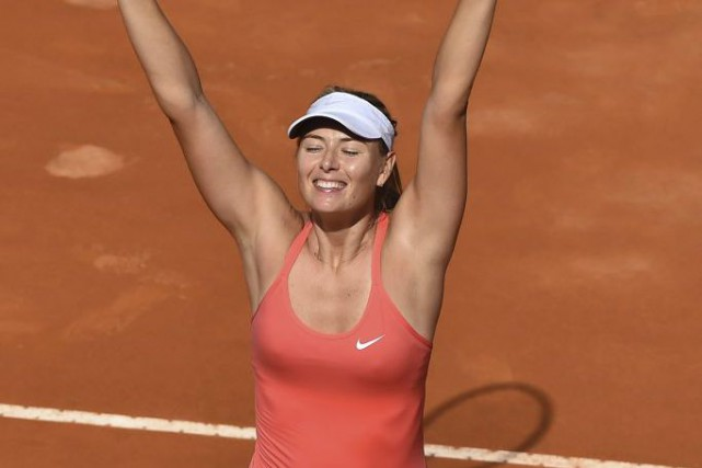Maria Sharapova... (PHOTO GABRIEL BOUYS, AFP)