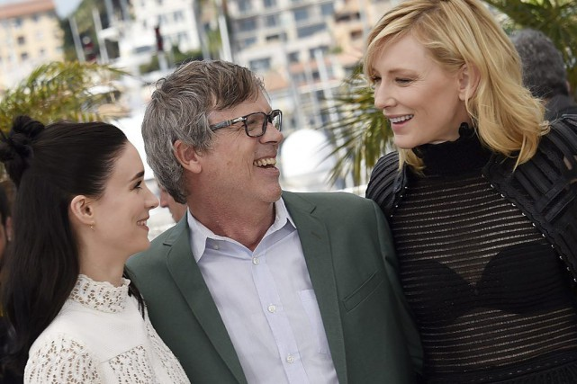Rooney Mara, Todd Haynes et Cate Blanchett... (LOIC VENANCE)