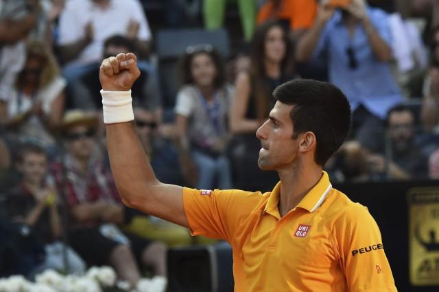 Novak Djokovic... (PHOTO GABRIEL BOUYS, AFP)