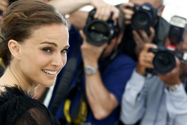 Natalie Portman est à Cannes pour présenter son... (PHOTO REGIS DUVIGNAU, REUTERS)