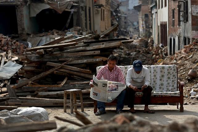 L'ONU a annoncé ce mois-ci n'avoir reçu que... (Photo Ahmad Masood, Reuters)