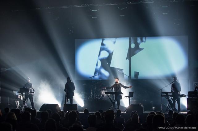 Le groupe slovène Laibach... (PHOTO MARTIN MORISSETTE, FOURNIE PAR FIMAV)