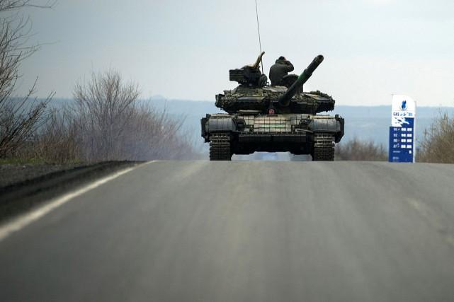 L'armée ukrainienne combat depuis plus d'un an les... (PHOTO ODD ANDERSEN, AFP)