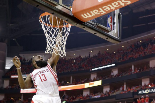 James Harden... (Photo David J. Phillip, AP)