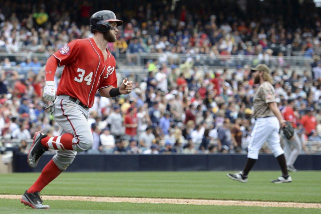 Bryce Harper... (Photo Jake Roth, USA TODAY Sports)