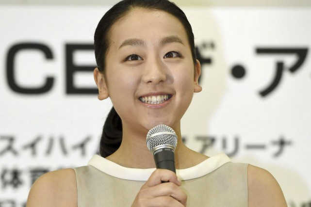 Mao Asada... (PHOTO KYODO NEWS/AP)