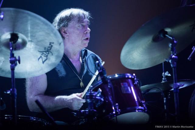 Le batteur de Magma Christian Vander... (PHOTO MARTIN MORISSETTE, FOURNIE PAR FIMAV)