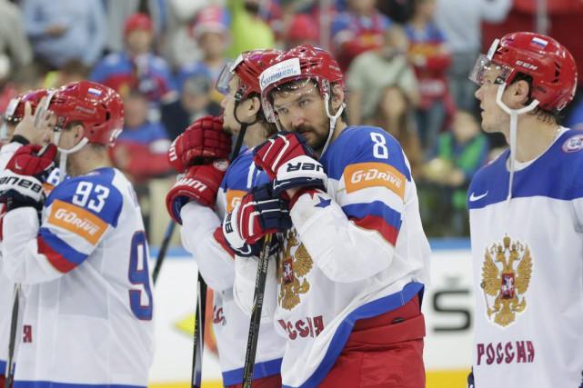 Alexander Ovechkin était parmi les rares joueurs à... (PHOTO PETR DAVID JOSEK, AP)