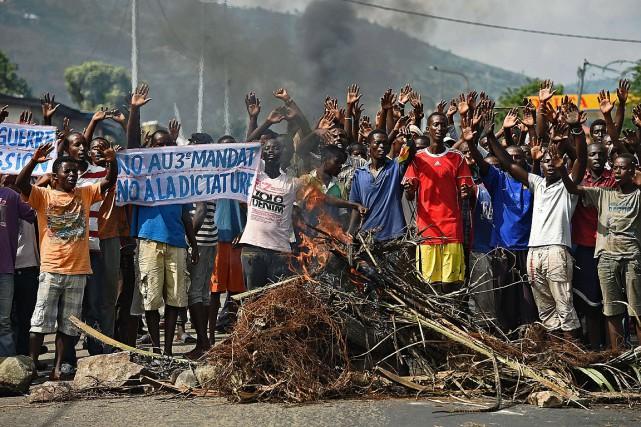Le Burundi est plongé dans une grave crise... (PHOTO CARL DE SOUZA, AFP)