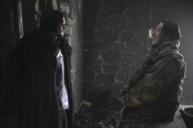 La série, qui raconte la bataille pour le... (Photo fournie par HBO)