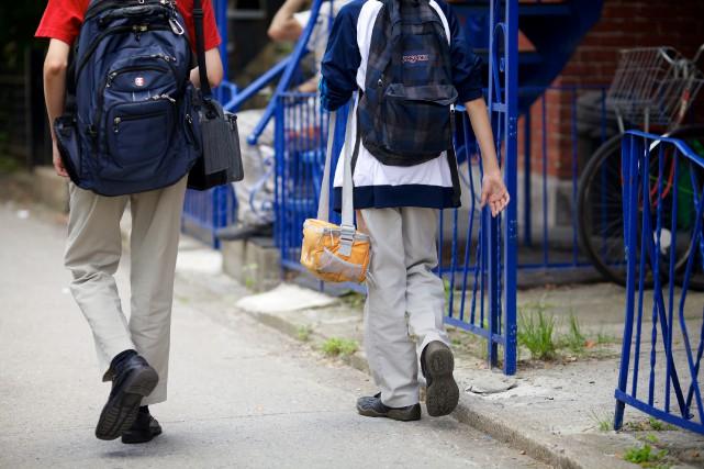 Le système d'éducation français est atteint des mêmes... (PHOTO SARAH MONGEAU-BIRKETT, ARCHIVES LA PRESSE)
