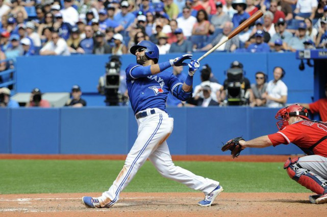 Jose Bautista... (Photo Peter Llewellyn, USA TODAY Sports)