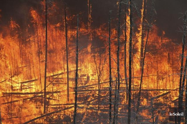 Le rapport annuel des incendies de Parcs Canada... (Photothèque Le Soleil)
