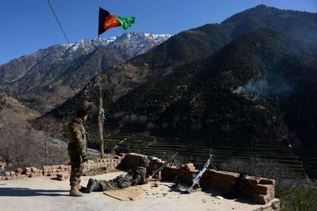 Les autorités afghanes ont souvent accusé le Pakistan... (Photo: AFP)